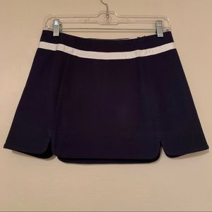 Juicy Couture Nautical Scalloped Lined Mini Skirt